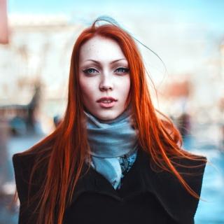 Gorgeous Redhead Girl - Obrázkek zdarma pro 320x320