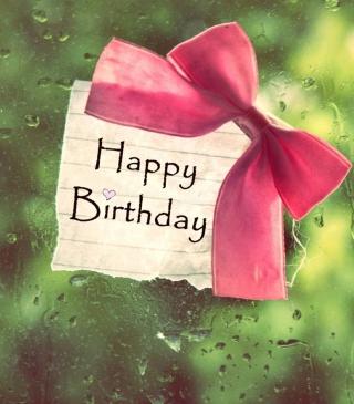 Happy Birthday - Obrázkek zdarma pro 132x176