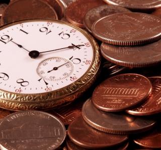 Time Is Money - Obrázkek zdarma pro iPad mini 2