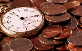 Time Is Money - Obrázkek zdarma pro Widescreen Desktop PC 1280x800