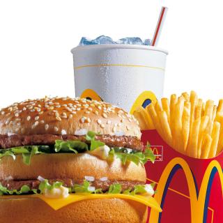 McDonalds: Big Mac - Obrázkek zdarma pro 128x128