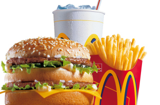 McDonalds: Big Mac - Obrázkek zdarma pro LG Optimus L9 P760