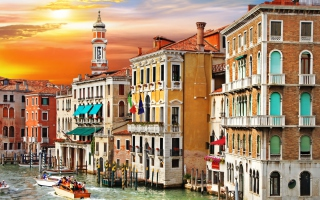 Grand Canal Venice Wallpaper for Android, iPhone and iPad