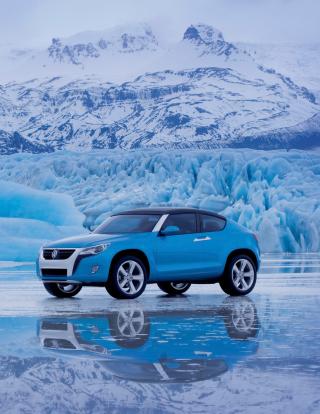 Volkswagen Suv Concept - Obrázkek zdarma pro iPhone 6 Plus