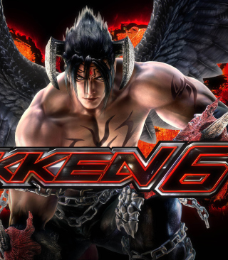 Jin Kazama - The Tekken 6 - Obrázkek zdarma pro Nokia C-Series