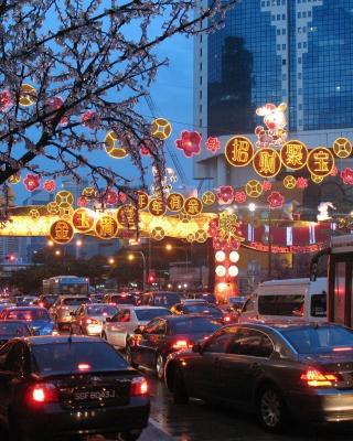 Republic of Singapore - Obrázkek zdarma pro Nokia Asha 306