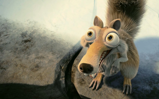 Scrat In Love Ice Age Picture for Android, iPhone and iPad