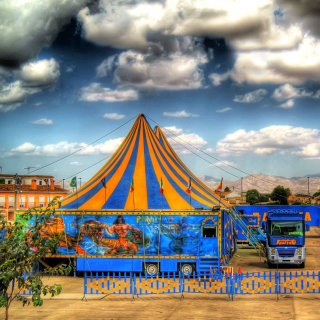 Circus Vargas - Obrázkek zdarma pro iPad mini