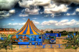 Circus Vargas - Obrázkek zdarma pro Motorola DROID