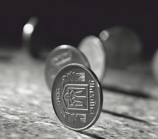 Ukrainian Coins - Obrázkek zdarma pro iPad mini 2