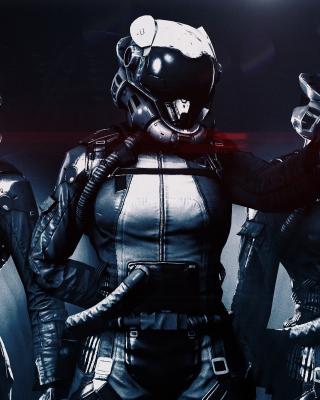 Cyborgs in Helmets - Obrázkek zdarma pro Nokia Asha 203