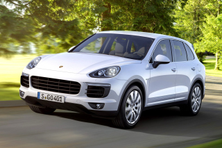 Porsche Cayenne 2015 Picture for Android, iPhone and iPad