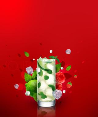 Bacardi Mojito - Obrázkek zdarma pro iPhone 4S