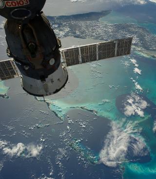 Soyuz Spacecraft - Obrázkek zdarma pro Nokia 300 Asha