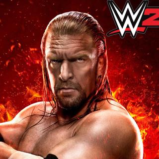 WWE 2K15 Triple H - Obrázkek zdarma pro 1024x1024