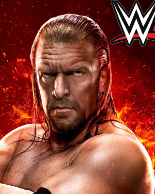 WWE 2K15 Triple H - Obrázkek zdarma pro 320x480