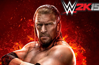 WWE 2K15 Triple H - Obrázkek zdarma pro Fullscreen Desktop 1400x1050