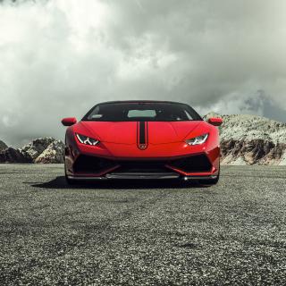 Lamborghini Huracan LP 610 4 Red - Obrázkek zdarma pro 1024x1024
