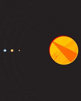 Solar System with Uranus - Obrázkek zdarma pro Nokia Lumia 1520