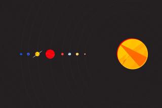 Solar System with Uranus - Obrázkek zdarma pro Samsung Galaxy S6 Active