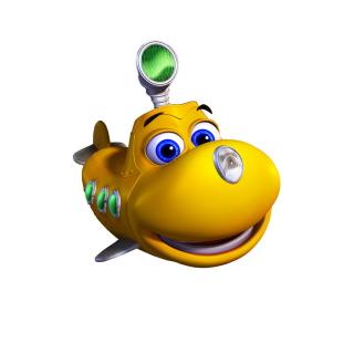 Happy Little Yellow Submarine - Obrázkek zdarma pro iPad mini 2