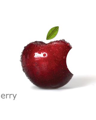 Apple Funny Logo - Obrázkek zdarma pro Nokia C7