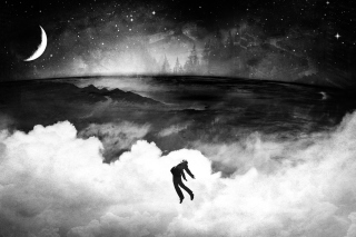 Flying Over Clouds In Dream Picture for Android, iPhone and iPad