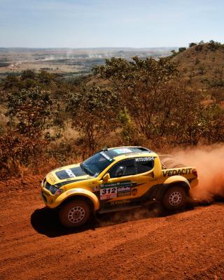 Mitsubishi L200 Triton Rally - Obrázkek zdarma pro Nokia X1-01