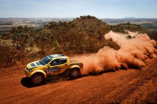 Mitsubishi L200 Triton Rally - Obrázkek zdarma pro 800x480