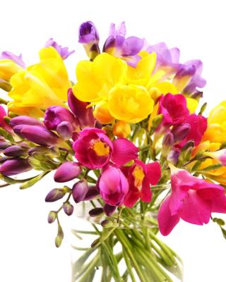 Summer Flowers Bouquet - Obrázkek zdarma pro Nokia X1-00