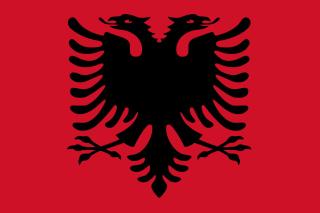 Flag Of Albania Background for Android, iPhone and iPad