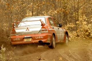 Mitsubishi Rally Car Wallpaper for Android, iPhone and iPad