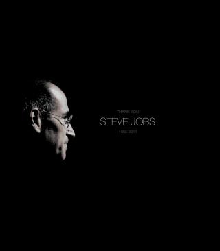Thank you Steve Jobs - Obrázkek zdarma pro 240x320