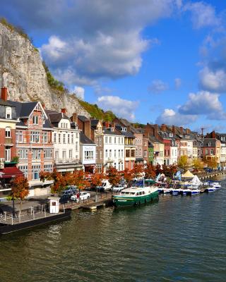 Belgium Dinant - Obrázkek zdarma pro 320x480