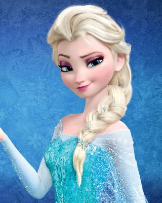 Elsa in Frozen - Obrázkek zdarma pro 352x416