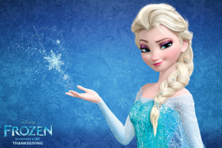 Elsa in Frozen - Obrázkek zdarma pro Samsung Galaxy Tab 4G LTE