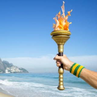Rio 2016 Olympics - Obrázkek zdarma pro iPad Air