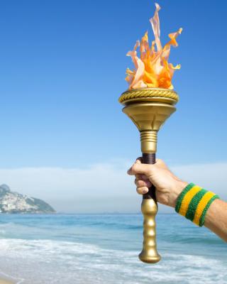 Rio 2016 Olympics - Obrázkek zdarma pro Nokia Asha 306