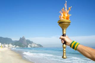Rio 2016 Olympics - Obrázkek zdarma pro 320x240