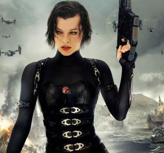 Resident Evil  - Milla Jovovich - Obrázkek zdarma pro iPad mini 2