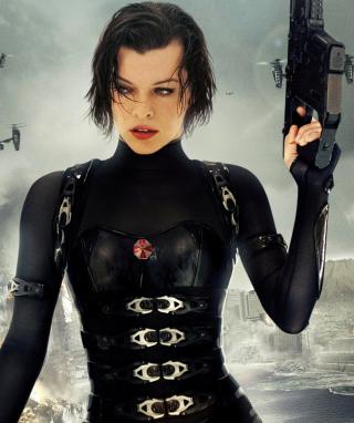 Resident Evil  - Milla Jovovich - Obrázkek zdarma pro Nokia X2-02