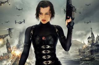 Resident Evil  - Milla Jovovich - Obrázkek zdarma pro 1400x1050