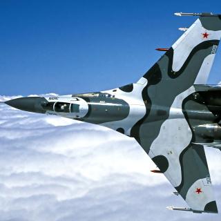 Sukhoi Su 27 - Obrázkek zdarma pro iPad mini 2