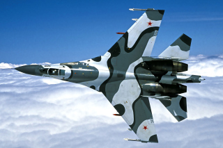 Sukhoi Su 27 Picture for Android, iPhone and iPad