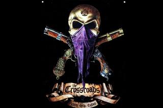 Pirate Skull - Obrázkek zdarma pro 1024x600