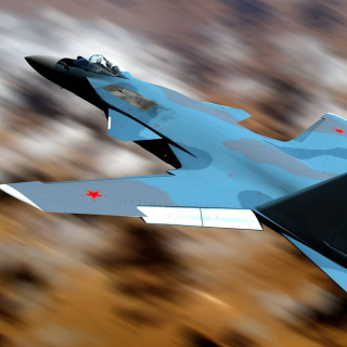 Sukhoi Su 47 Firkin Jet Fighter - Obrázkek zdarma pro iPad 2