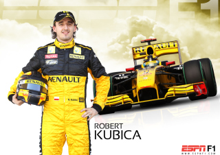 Free Renault Formula 1 - Robert Kubica Picture for Android, iPhone and iPad