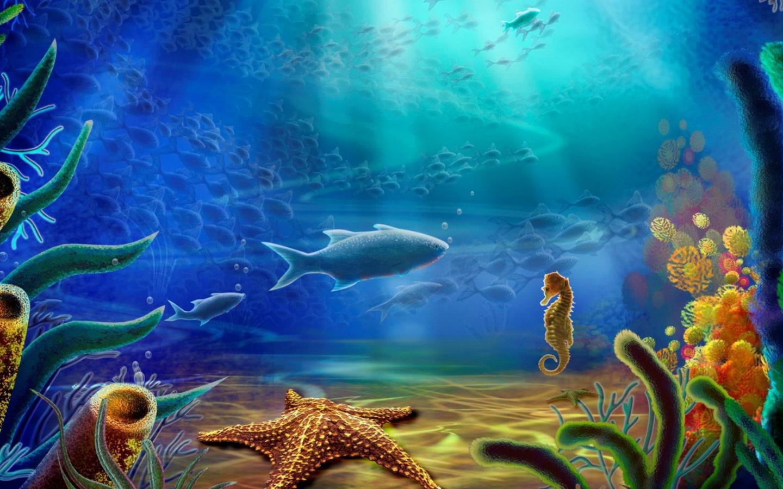 Screenshot №1 pro téma 3d Underworld 1440x900