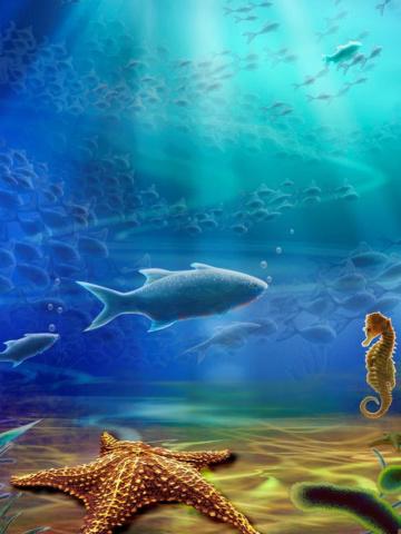 Screenshot №1 pro téma 3d Underworld 360x480