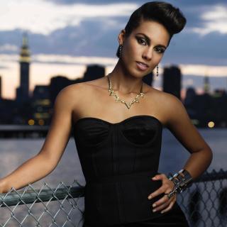 Alicia Keys - Obrázkek zdarma pro iPad Air
